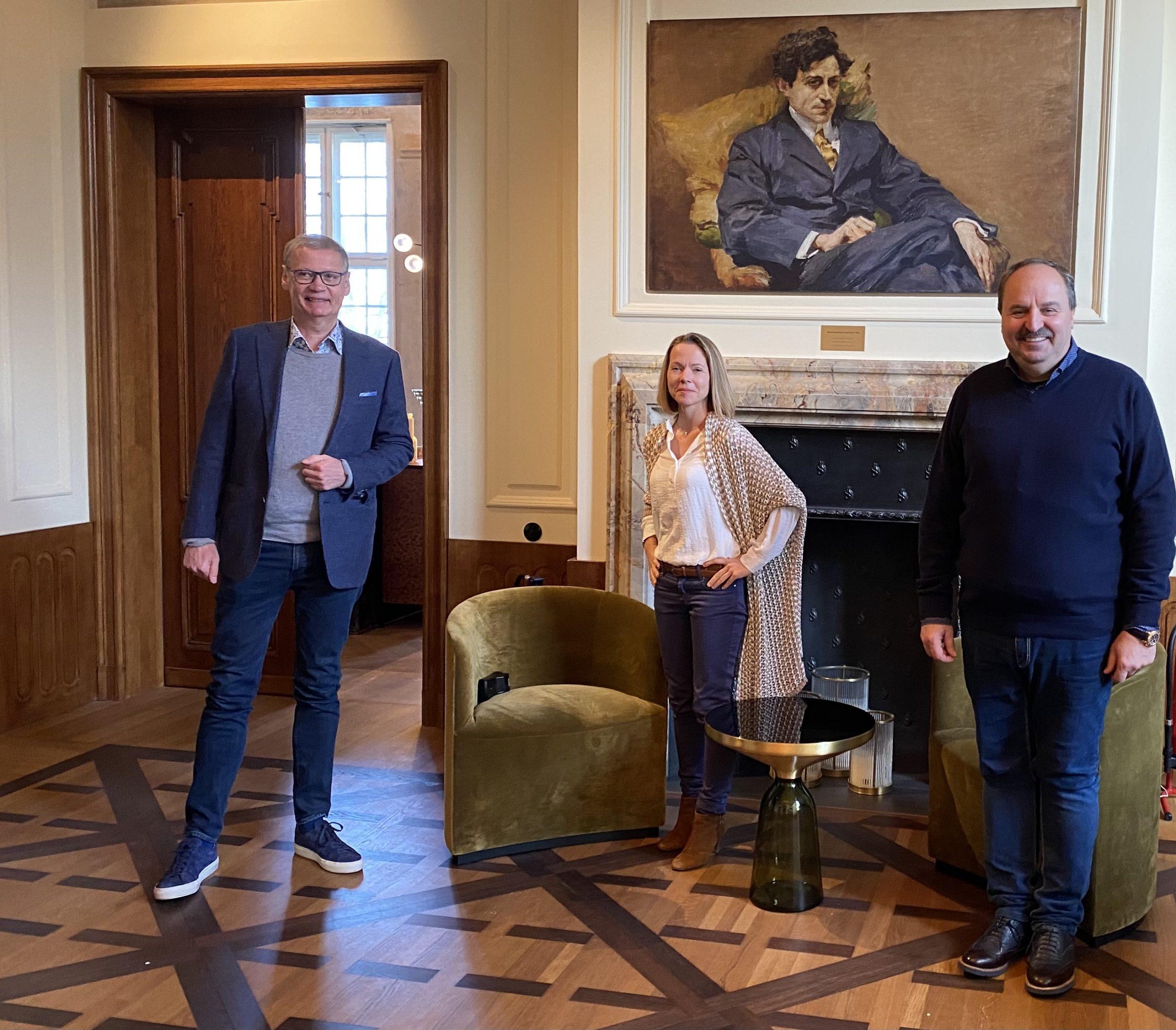Günther Jauch, Johann Lafer und Sabrina Gander